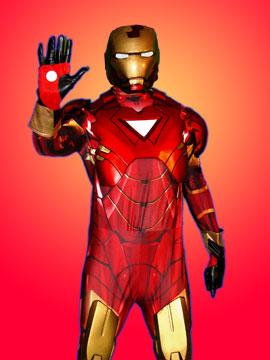 iron man licensed costume marvel superhero party enterainment new jersey nj